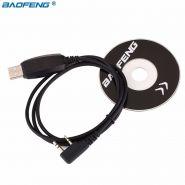 USB Кабель + CD диск для программирования раций Baofeng,Kenwood